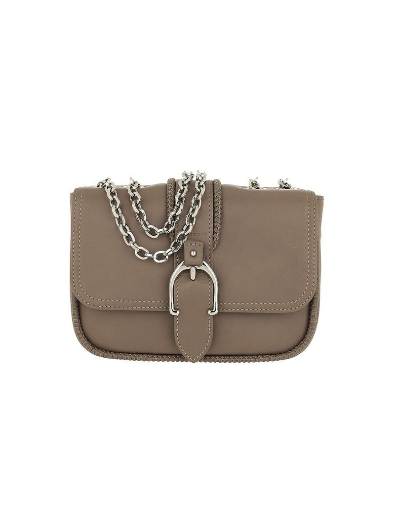 Longchamp Designer Handbags, Amazone Buckle Shoulder Bag Taupe