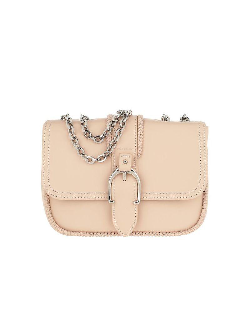Longchamp Designer Handbags, Amazone Buckle Shoulder Bag Powder