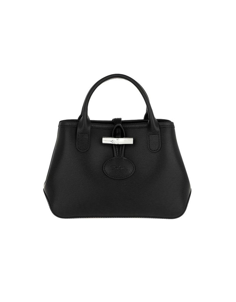 Longchamp Designer Handbags, Roseau Crossbody Bag Leather Black