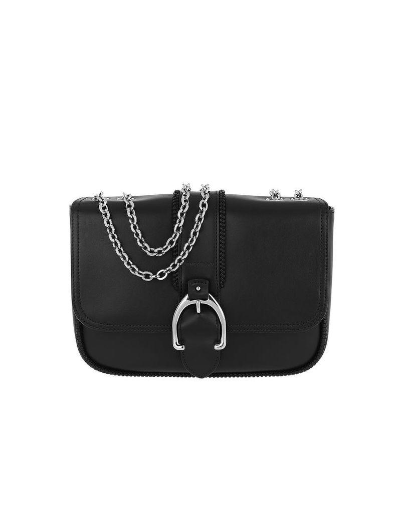 Longchamp Designer Handbags, Paris Shoulder Bag Leather Black