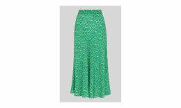 Ditsy Blossom Bias Cut Skirt