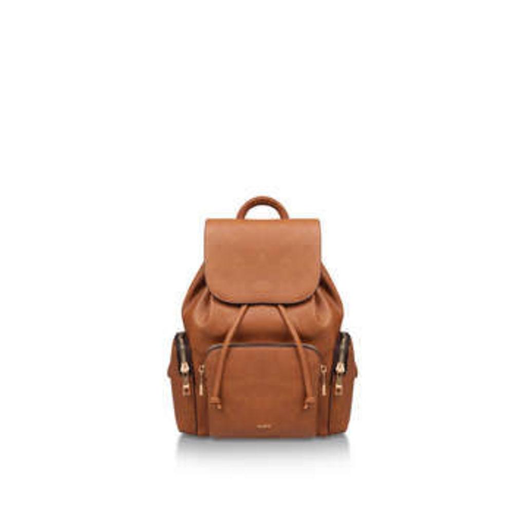 Aldo Corsage - Tan Drawstring Backpack