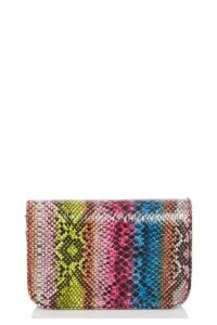 Quiz Multicoloured Cross Body Belt Bag