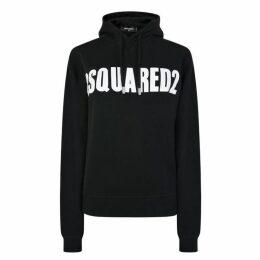 DSQUARED2 Logo Hooded Sweatshirt