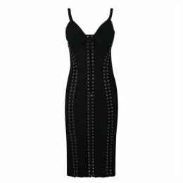 Dolce and Gabbana Stretch Cady Bustier Dress