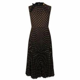 PRADA Polka Dot Midi Dress