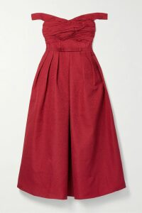 Joseph - Warrick Linen-blend Trench Coat - Blue