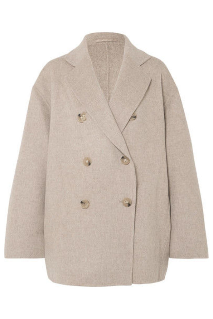 Acne Studios - Odine Double-breasted Wool And Cashmere-blend Coat - Beige