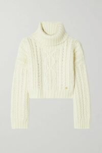 Paul & Joe - Embellished Tulle Maxi Dress - Neutral
