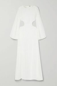 Michael Lo Sordo - Double-breasted Wool-crepe Blazer - Beige