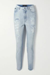 Balenciaga - Hourglass Double-breasted Wool-blend Coat - Blue
