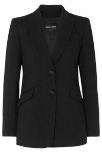 Giorgio Armani - Wool-blend Blazer - Black