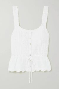 Balmain - Embellished Tulle Mini Dress - Silver