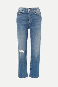 Altuzarra - Sunday Striped Ribbed Stretch-knit Midi Dress - Blue
