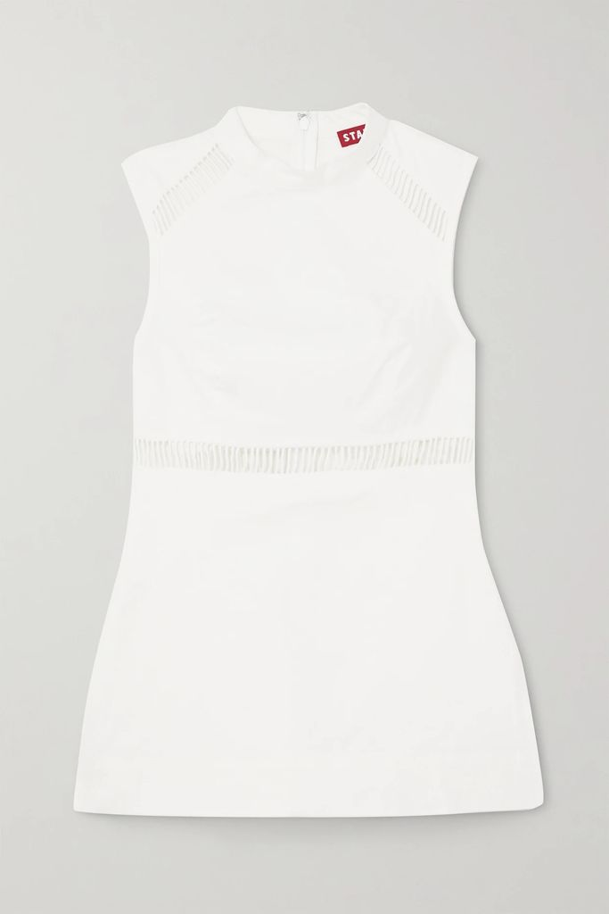 Ulla Johnson - Salma Open-back Embroidered Macramé And Linen And Cotton-blend Gown - Off-white