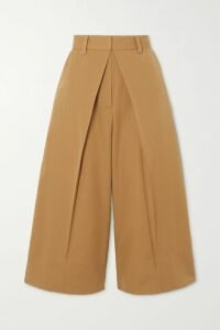 Oscar de la Renta - Embellished Embroidered Linen-blend Twill Kimono - White