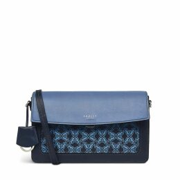 Heritage Flower Large Open Top Shoulder Bag