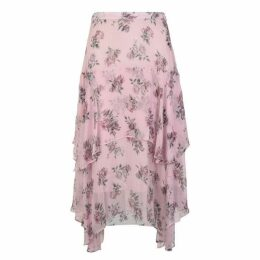 LOVESHACKFANCY Alex Floral Skirt