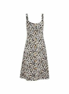 Womens **Tall Multi Colour Animal Print Camisole Dress- Animal, Animal