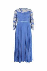 Womens Coast Blue Odetta Maxi Dress -  Blue