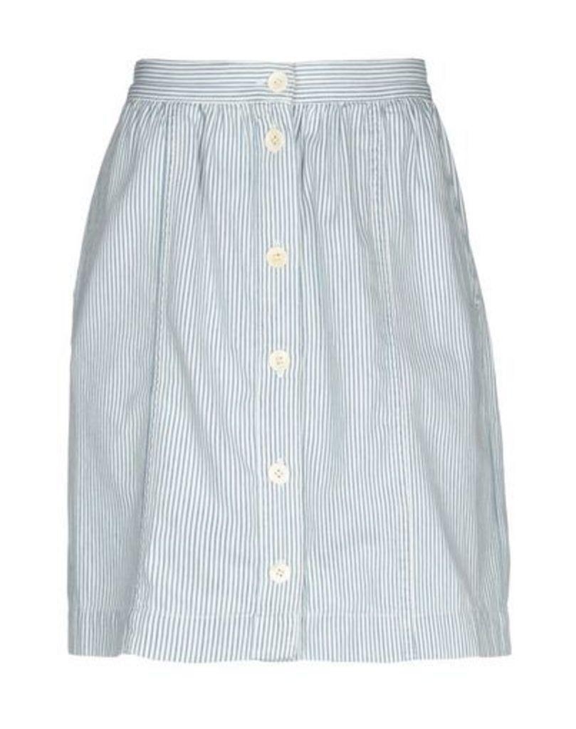 M.I.H JEANS SKIRTS Knee length skirts Women on YOOX.COM