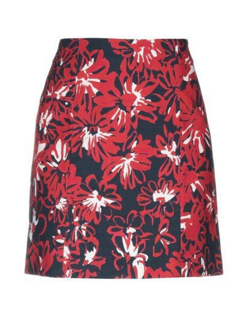 BLUE LES COPAINS SKIRTS Knee length skirts Women on YOOX.COM