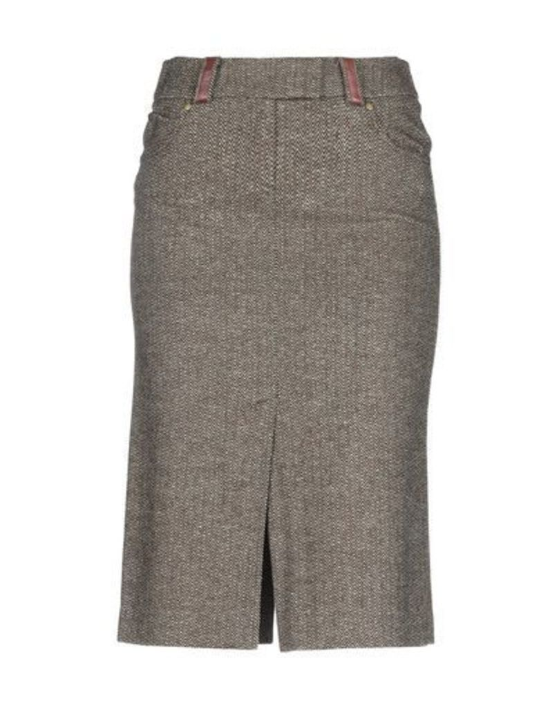 ALYSI SKIRTS Knee length skirts Women on YOOX.COM