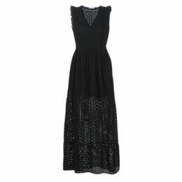 LPB Woman  AZITAY  women's Long Dress in Black