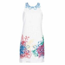 Desigual  BIBI  women's Dress in White