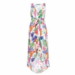 Desigual  PATRICE  women's Long Dress in White