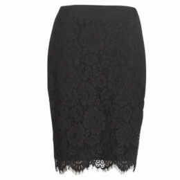Morgan  JFLO  women's Skirt in Black