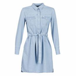 Lee  DENIM DRESS  women's Dress in Blue