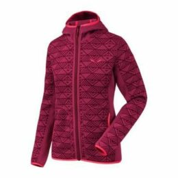 Salewa  Puez Printed Pl W Fz Hdy 26457-6509  women's Fleece jacket in multicolour