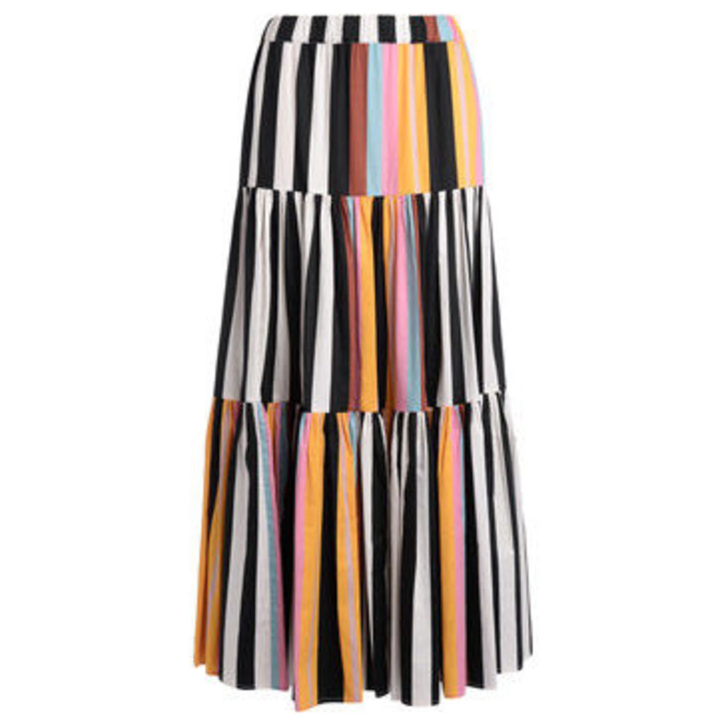 Tory Burch  Gonna a righe multicolore  women's Skirt in Other