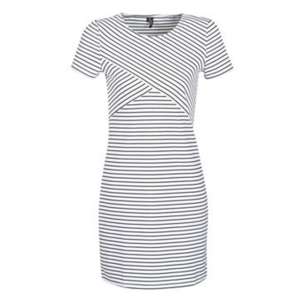 Vero Moda  VMVIGGA  women's Dress in White