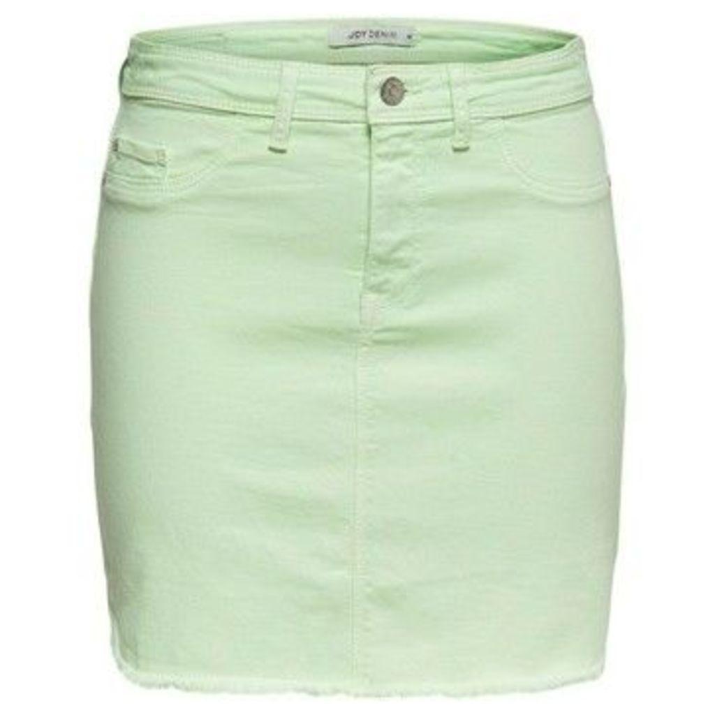 Jacqueline De Yong  FALDA  women's Skirt in Green