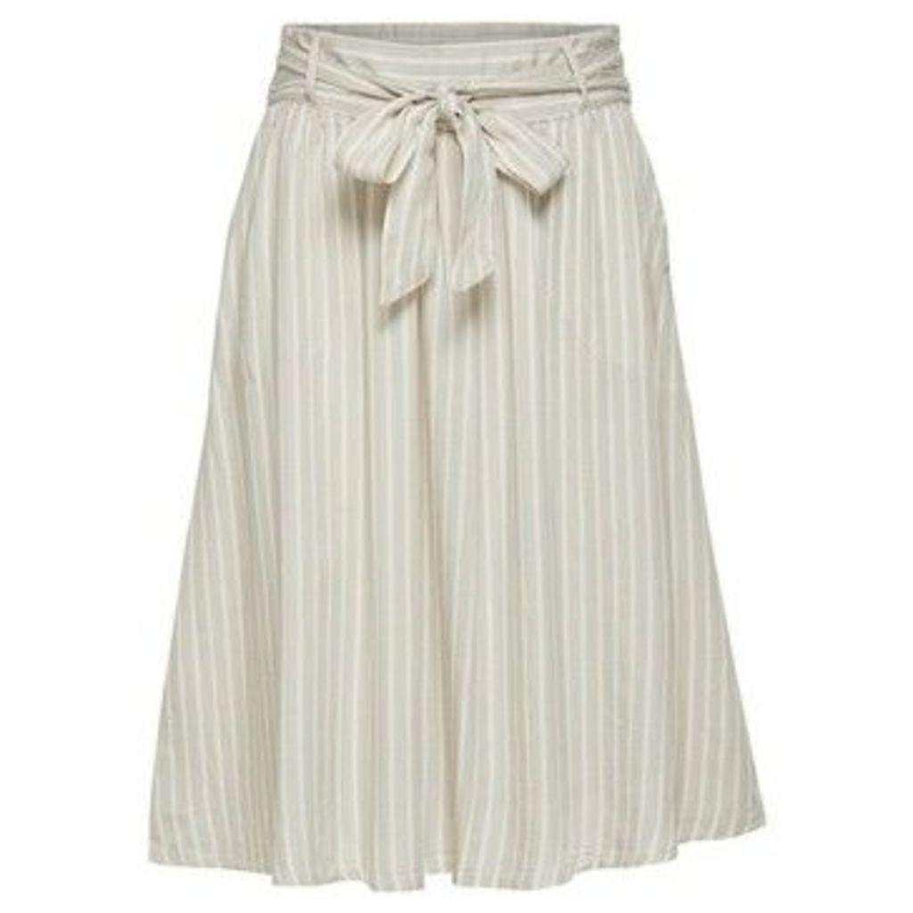 Only  FALDA  women's Skirt in Beige