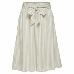 Only  FALDA  women's Skirt in Beige