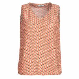 Only  ONLTULIPE  women's Blouse in Orange
