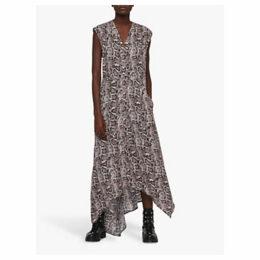 AllSaints Tate Misra Snake Print Dress, Multi