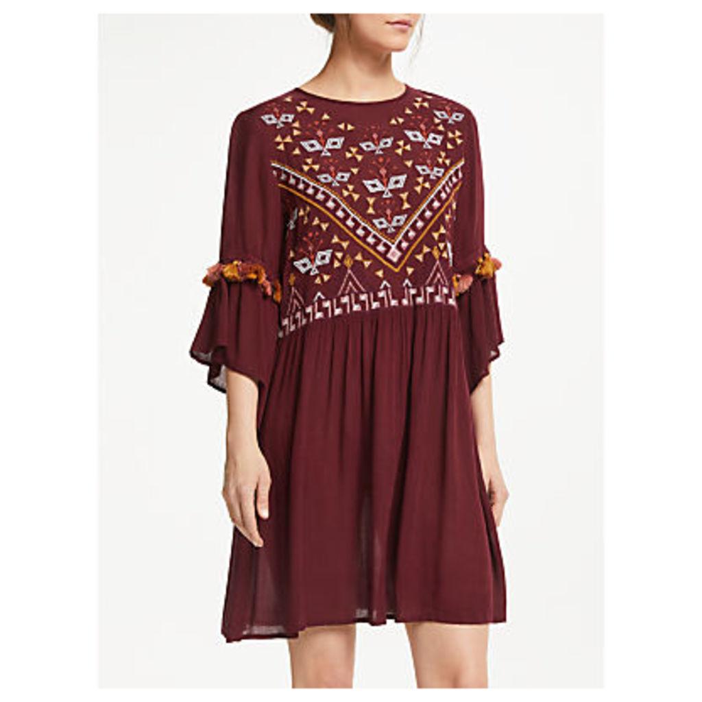 Y.A.S Chella Tunic Dress, Burgundy