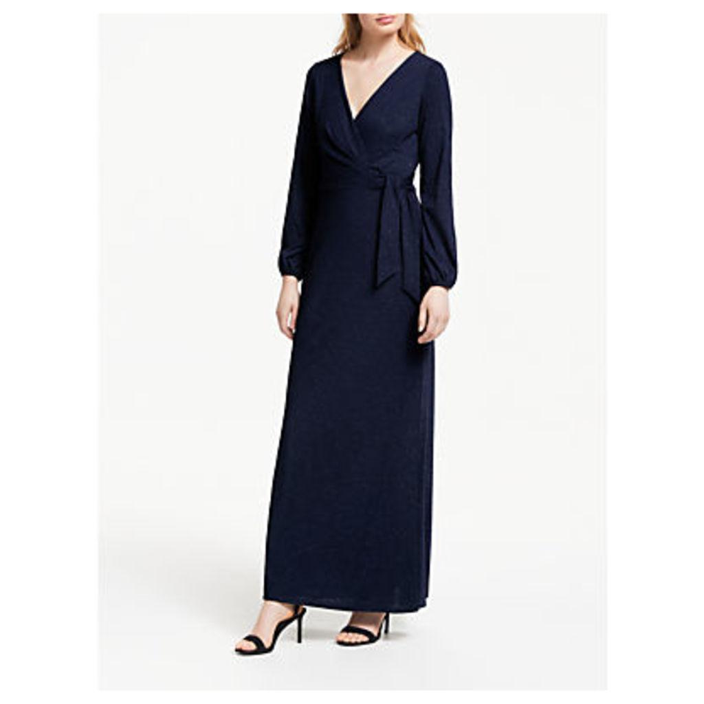 Lauren Ralph Lauren Rebekah Evening Dress, Navy Metallic