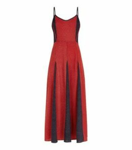 Brave Soul Red Tile Print Maxi Dress New Look