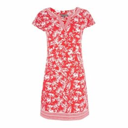 Silhouette Palm Tunic Dress