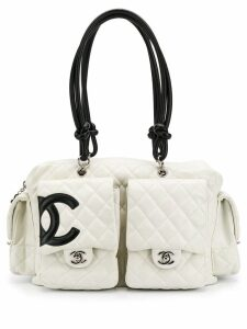 Chanel Pre-Owned 2000's CC quilted bag - Neutrals