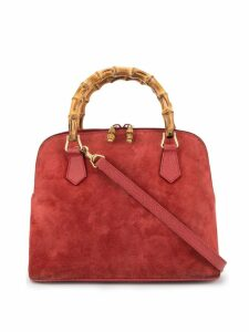 Gucci Pre-Owned Bamboo 2way hand bag - Red