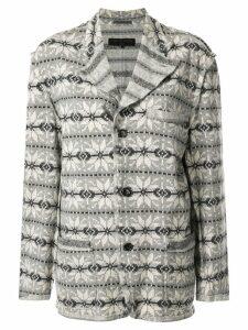 Comme Des Garçons Pre-Owned Long Sleeve Jacket - Grey