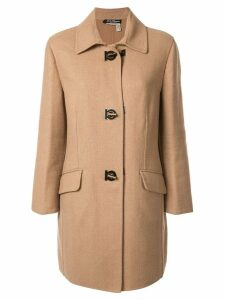 Salvatore Ferragamo Pre-Owned Salvatore Ferragamo Long Sleeve Coat