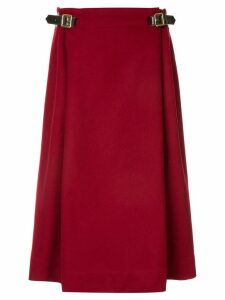 Hermès Pre-Owned HERMES Vintage Skirt - Red