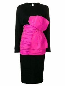 Rewind Vintage Affairs 1980's bow dress - Black